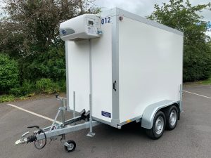Refrigerated Trailer in White